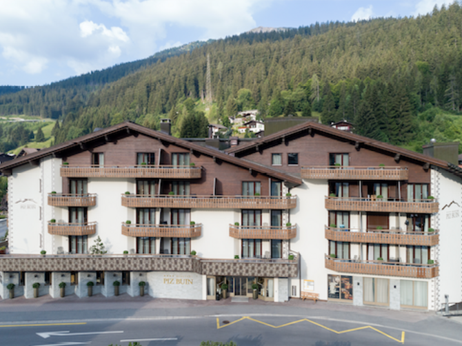 Hotel Piz Buin in Klosters.